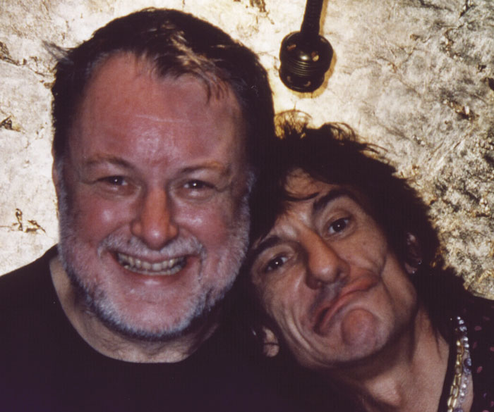 Kimsey and Ron Wood
