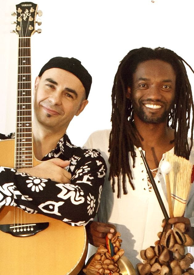 ANTONIO FORCIONE & ADRIANO ADEWALE  Live On Stage At Olympic Studios