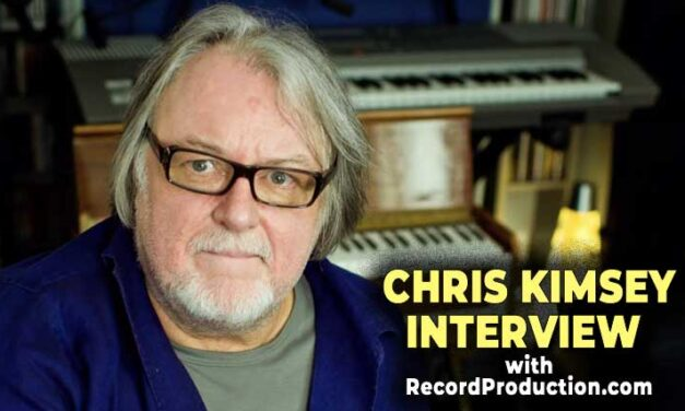 VIDEO | Interview with Chris Kimsey @ Sphere Studios